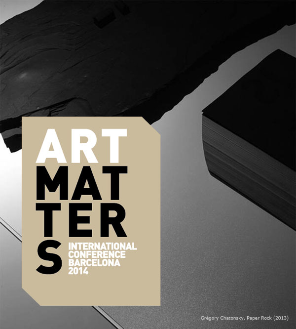 Art Matters International Conference 2014