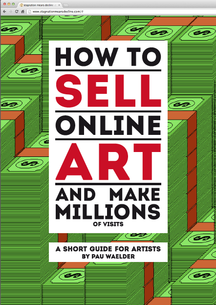 How to Sell Online Art and Make Millions (of visits)